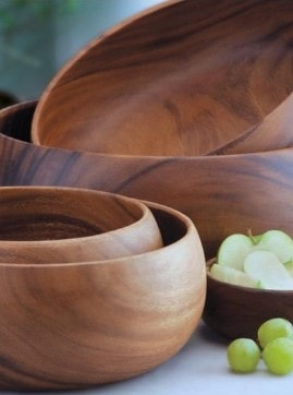 acacia bowl